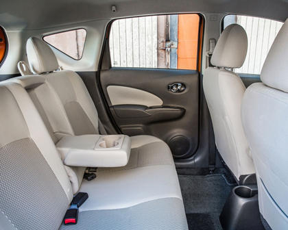 2017 Nissan Versa Note 1.6 SL 4dr Hatchback Rear Interior Shown
