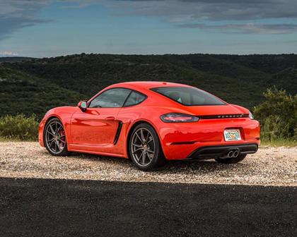 2018 Porsche 718 Cayman S S CoupeExterior