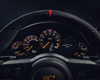 2018 Porsche 911 GT3 Coupe Gauge Cluster