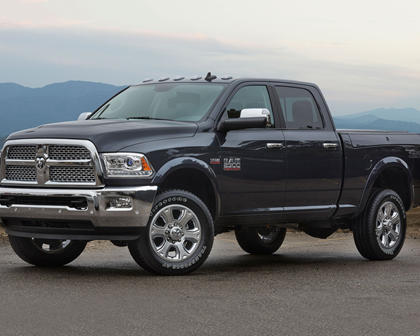2017 Ram 2500 Laramie Crew Cab Pickup Exterior. 4x4 Off-Road Package Shown.