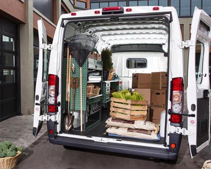2017 Ram Promaster Cargo Van 3500 High Roof Cargo Van Cargo Area