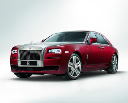 2017 Rolls-Royce Ghost Series II SedanExterior