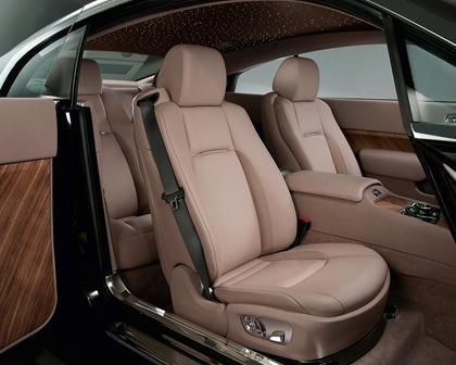2016 Rolls-Royce Wraith Coupe Interior