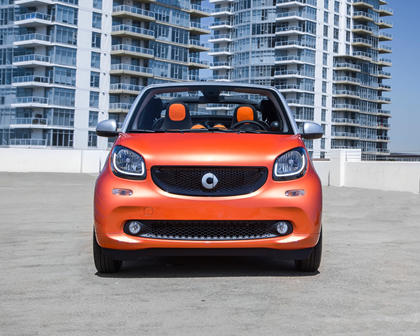 2017 smart fortwo passion Convertible Exterior. Options Shown.