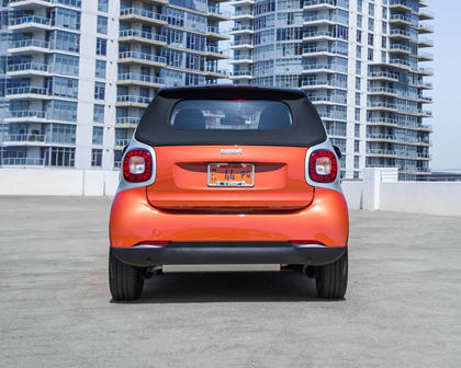 2017 smart fortwo passion Convertible Exterior