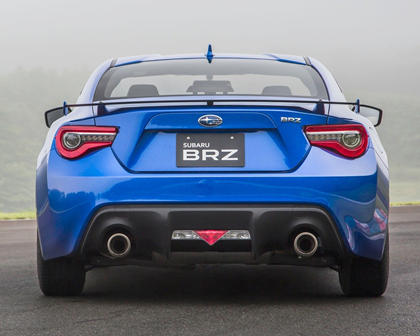 2017 Subaru BRZ Limited Coupe Exterior