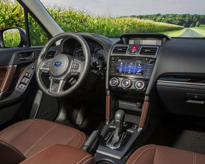 2018 Subaru Forester 2.0XT Touring 4dr SUV Interior Shown