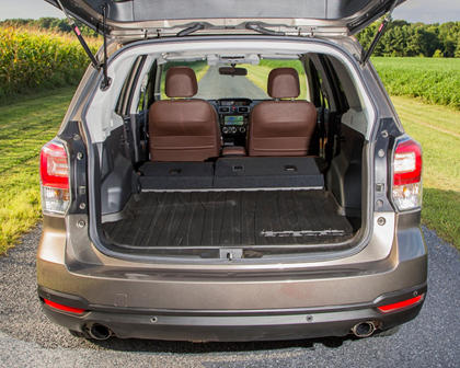 2018 Subaru Forester 2.0XT Touring 4dr SUV Rear Seats Down