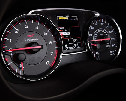 2018 Subaru WRX STI Limited Sedan Gauge Cluster