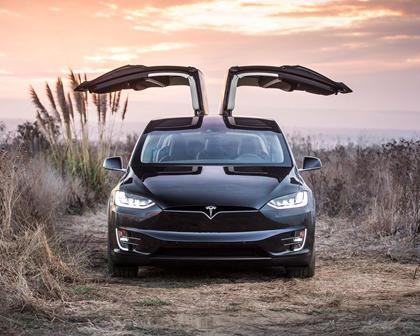 2017 Tesla Model X P100D 4dr SUV Exterior