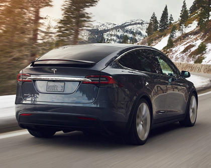 2017 Tesla Model X P100D 4dr SUV Exterior Shown