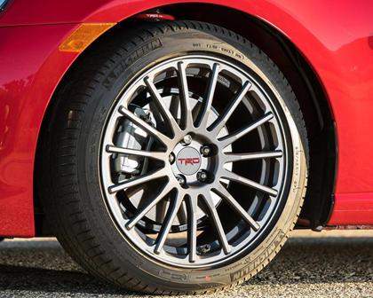 2017 Toyota 86 Coupe Wheel