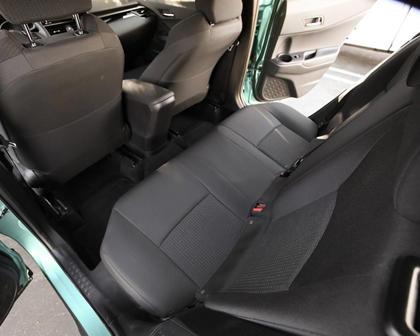 2018 Toyota C-HR XLE Premium 4dr SUV Rear Interior