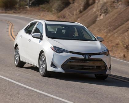2018 Toyota Corolla LE Eco w/Premium Package Sedan Exterior Shown
