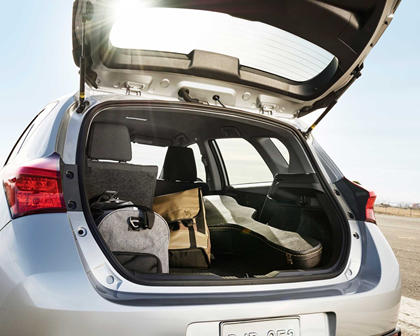Toyota Corolla iM 4dr Hatchback Cargo Area