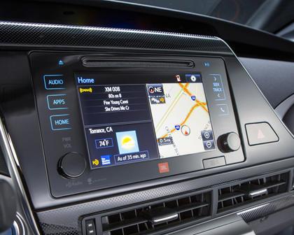 2017 Toyota Mirai SedanNavigation System