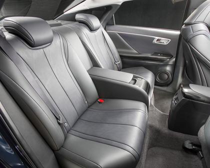2017 Toyota Mirai SedanRear Interior