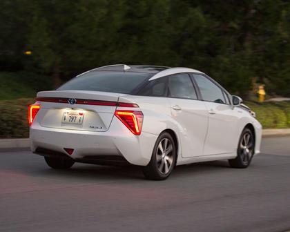 2017 Toyota Mirai SedanExterior