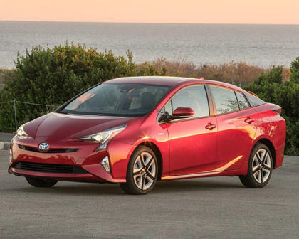2017 Toyota Prius Four Touring 4dr Hatchback Exterior Shown