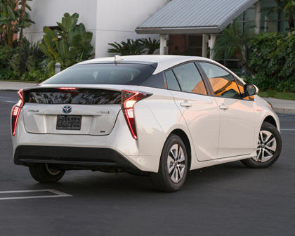 2017 Toyota Prius Two Eco 4dr Hatchback Exterior