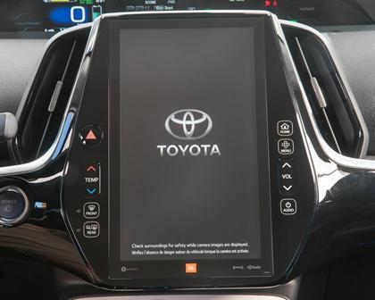 2017 Toyota Prius Prime Advanced 4dr Hatchback Center Console