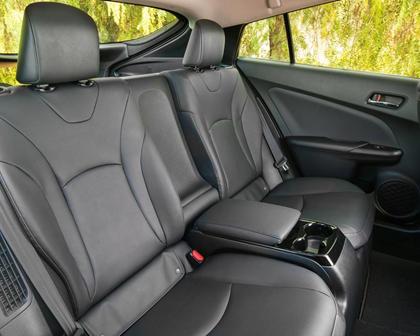 2017 Toyota Prius Prime Advanced 4dr Hatchback Rear Interior
