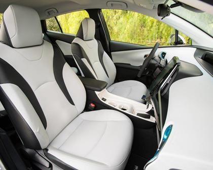 2017 Toyota Prius Prime Premium 4dr Hatchback Interior