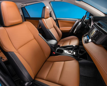 2017 Toyota RAV4 Hybrid Limited 4dr SUV Interior Shown