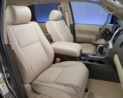 Toyota Sequoia Limited 4dr SUV Interior