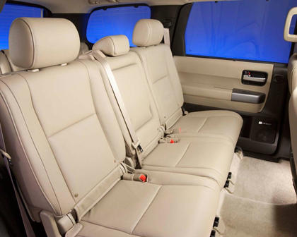 Toyota Sequoia Limited 4dr SUV Rear Interior