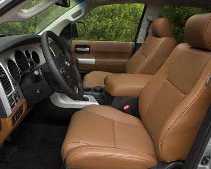 Toyota Sequoia Platinum 4dr SUV Interior