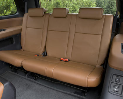 Toyota Sequoia Platinum 4dr SUV Rear Interior