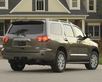 Toyota Sequoia Platinum 4dr SUV Exterior