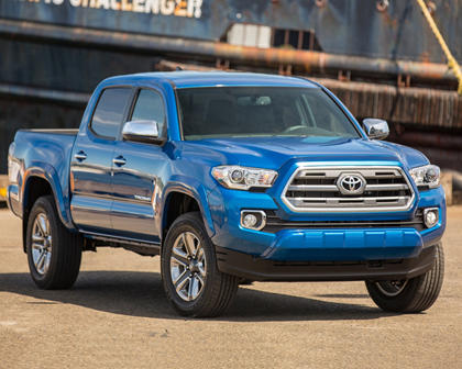 2017 Toyota Tacoma Limited Crew Cab Pickup Exterior