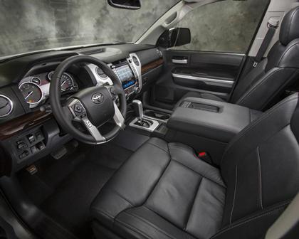 2017 Toyota Tundra Limited Crew Cab Pickup Interior