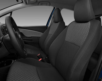 2018 Toyota Yaris LE 4dr Hatchback Interior Shown