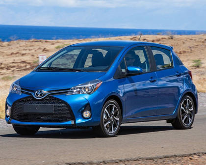 2018 Toyota Yaris SE 4dr Hatchback Exterior Shown