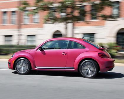 2017 Volkswagen Beetle #PinkBeetle 2dr Hatchback Exterior