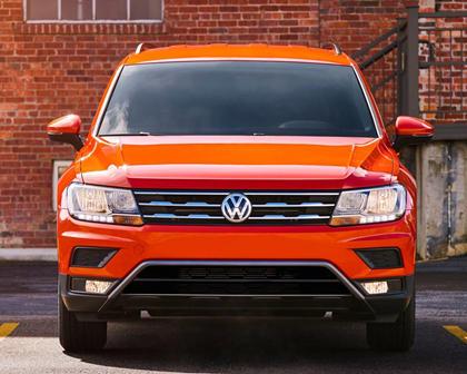 2018 Volkswagen Tiguan S 4dr SUV Exterior Shown