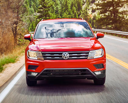 2018 Volkswagen Tiguan S 4dr SUV Exterior