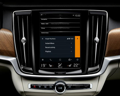 2017-2019 Volvo  V90 Cross Country Infotainment Screen