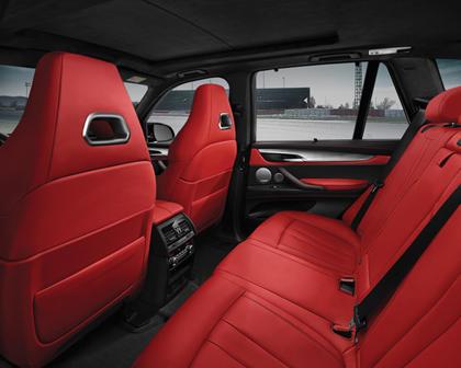 2015-2018 BMW  X5 M Rear Seating