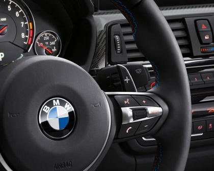 2015-2017 BMW  M4 Right Side Steering Wheel Controls
