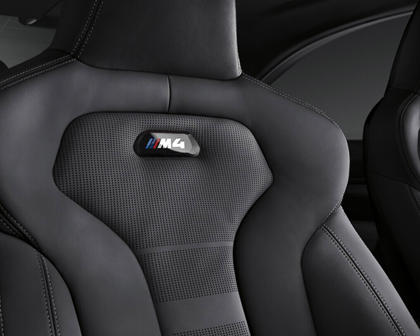 2015-2017 BMW  M4 Leather Seat Details