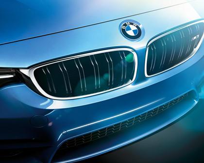 2015-2017 BMW  M3 Sedan Font Grill Closeup