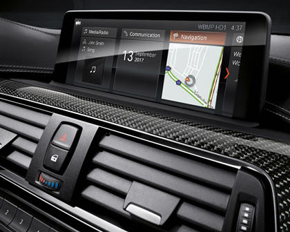 2015-2017 BMW  M3 Sedan Infotainment System