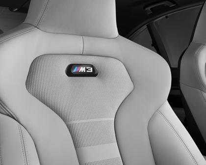 2015-2017 BMW  M3 Sedan Passenger Seat  Closeup