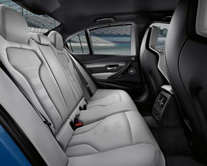 2015-2017 BMW  M3 Sedan Rear Seats