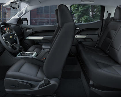 2017 Chevrolet Colorado Seating