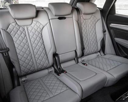 2016-2018 Audi Q5 Rear Seating